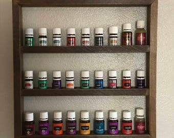 Essential Oil Rack - Wood