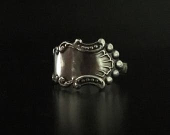 Sterling Silver Spoon Ring 7.25