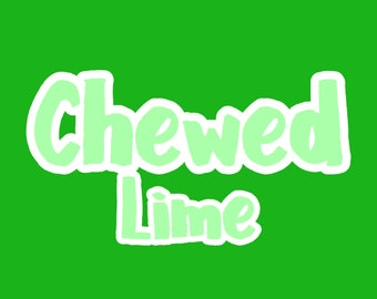 Chewed Lime