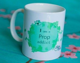 Photography mug - i am a prop addict