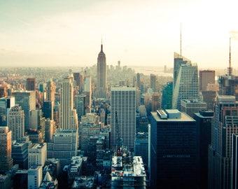 A4 New York Skyline Print