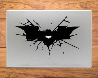 Batman Crash Symol Macbook Decal Stickers Laptop