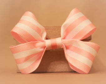 Pretty in Pink and White- Stripes, Pink, Girly
