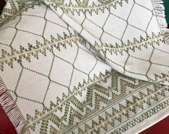 Swedish Weaving lap blanket