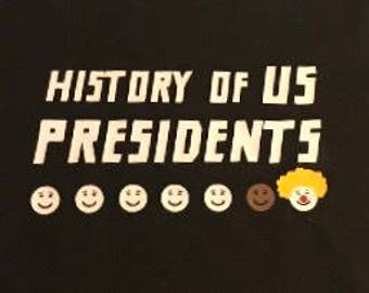 History of presidents of the US