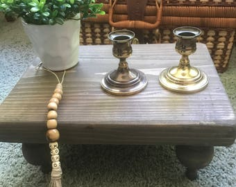 Beautiful vintage brass candle holders