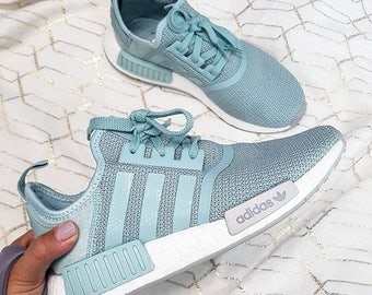"""Custom colored Adidas NMD Runners in """" Daylight Blues"""""""