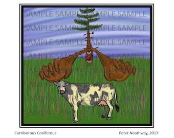 Carnivorous Coniferous - Poster Art