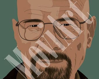 Walter White by MoviArt
