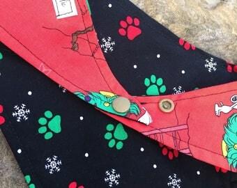 Pawlie Brown Christmas Bandana