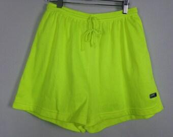 Neon shorts size M