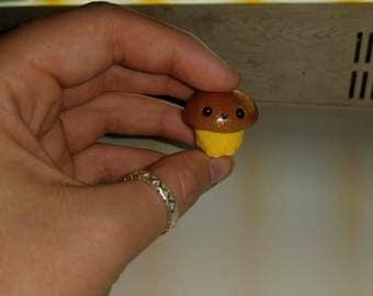 Handmade polymer clay cupcakes(: