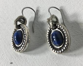 Vintage LC Signed Earrings, Vintage Liz Claiborne Earrings, Vintage Estate Jewelry
