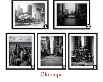 Chicago Prints, Art prints,