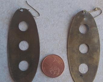 industrial vintage stud earring