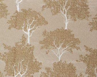 Embroidered fabric trees Keaton Ashley Wilde