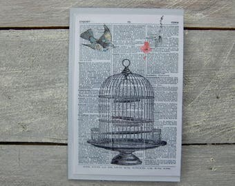 Magnetic frame: print on paper