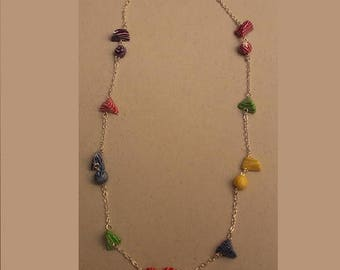 Humbugs multicolor necklace