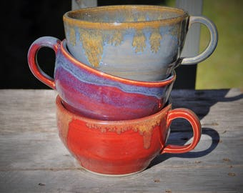 Custom order: Soup mugs
