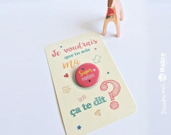 GODMOTHER card Badge