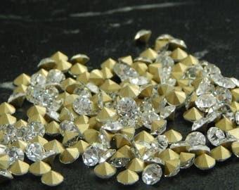 Rhinestone diamond 4.9 100 - 5 mmdiametre