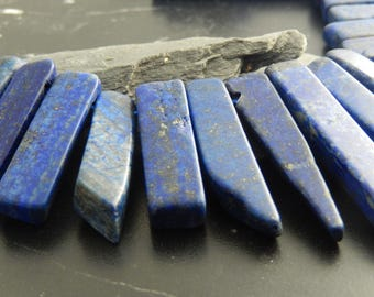 Lapis lazuli natural 5 pendants