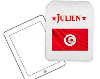 Cover for tablet pc Tunisia personalized with name