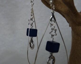 Delicate, thin, lightweight earrings