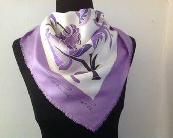 vintage scarf. Silk