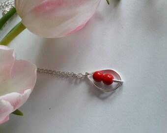 """Elaia """"Coral"""" necklace"""