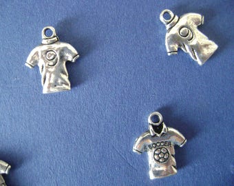 Soccer Jersey charms