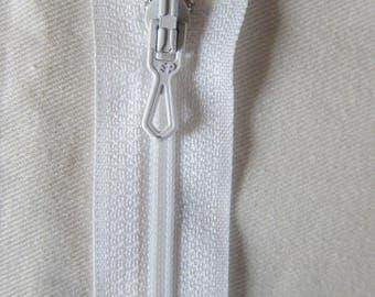 Closing zip 15 cm white not separable ZIPPER PRESTIL