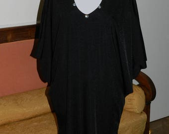 Robe grande taille lycra longue