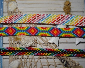 Set of 3 Friendship Bracelet