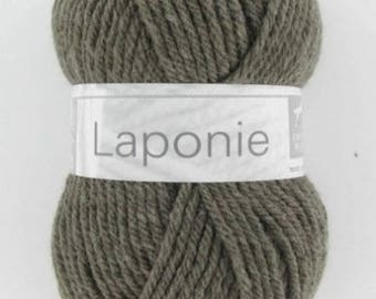 yarn of LAPLAND horse white N ° 075
