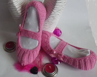Slippers adult woman 36/38 ballerina pink