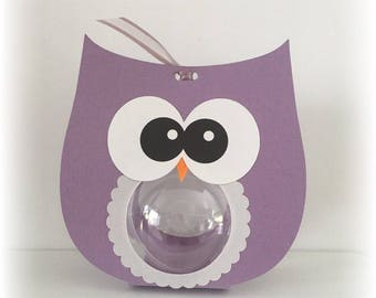 OWL ball for sweets mam' Missy bou + collar