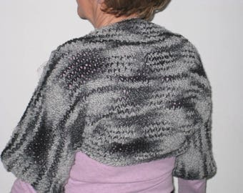 Heather gray women shoulder warmer