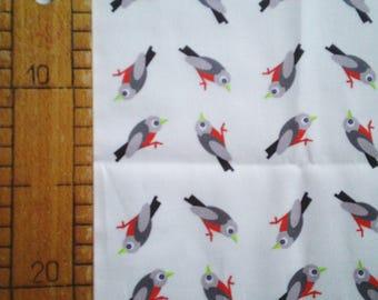 Chaffinch pattern fabrics