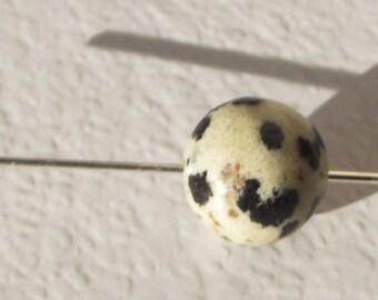 Dalmatian Jasper bead