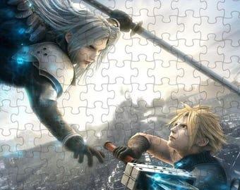 Final Fantasy VII 7 Advent Children Cloud Sephiroth A4 Puzzle - 120 Pieces
