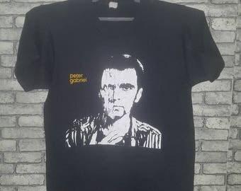 Vintage 80s peter gabriel shirt