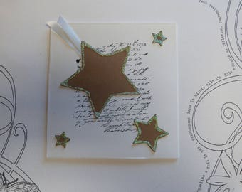 """Star"" greeting card"