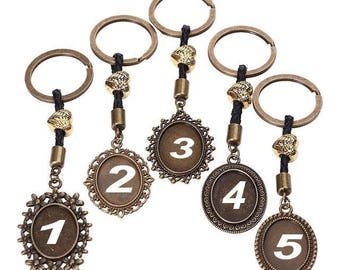 1 key for cabochon 25 x 18 mm within 15 days