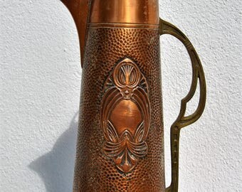 can copper Art Nouveau