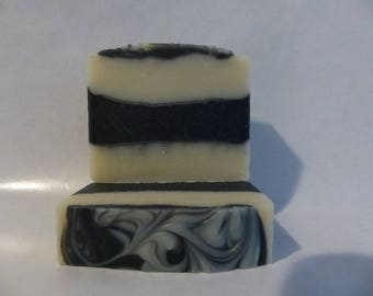 Black Tie for Men - Cold Process All Natural Handmade Soap