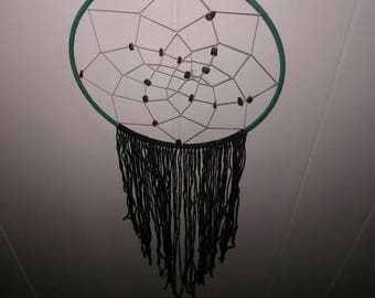 Dreamcatcher (Black, white and Green)