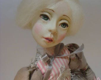 sold. Madeleine OOAK art doll collectible doll