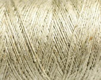 80 meters - spool thread hemp 0.2 - 0.4 mm Ecru - 4558550083593