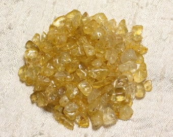 160pc-stone Citrine Chips 4-10mm 4558550003959 seed beads